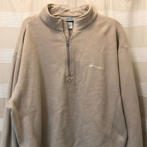 Columbia XL Fleece Pullover Nice Used